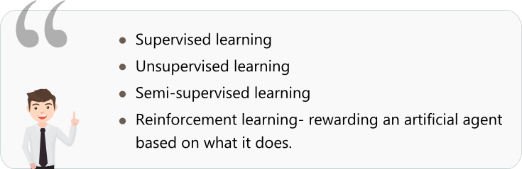 Types of deep learning